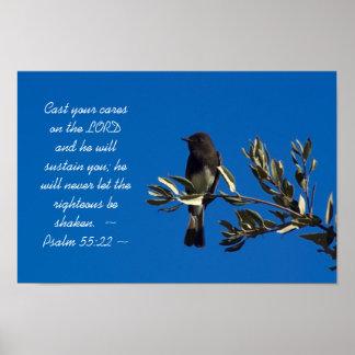 55:22 del salmo póster