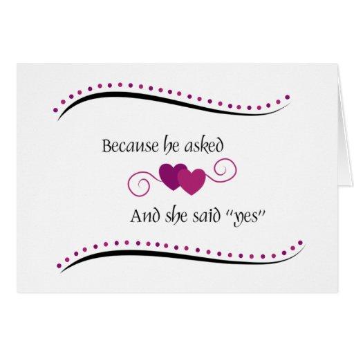 55.a tarjeta personalizada del aniversario de boda