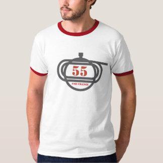 55 and change Horseracing T-Shirt