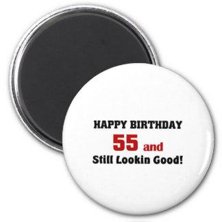 55 and still lookin good refrigerator magnets