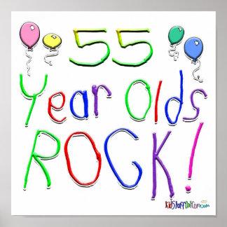 ¡55 años de la roca! posters