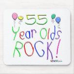 ¡55 años de la roca! tapete de ratón