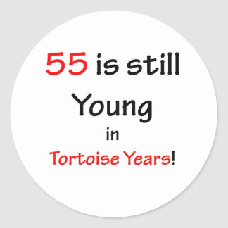 55 años de la tortuga pegatinas