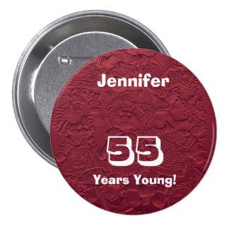 55 años de las muñecas del Pin del botón de regalo