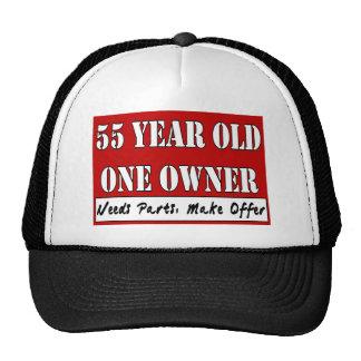 55 años, un dueño - las piezas de las necesidades, gorros bordados