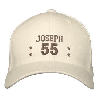 55 Birthday Custom Name ESPRESSO V67A Baseball Cap