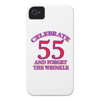 55 Birthday Design iPhone 4 Cover