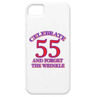 55 Birthday design iPhone SE/5/5s Case