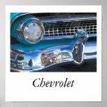 55 Chevrolet Poster
