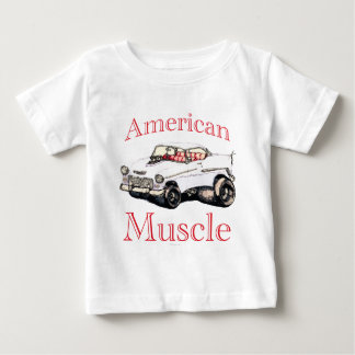 55 chevy American Muscle Infant T-shirt