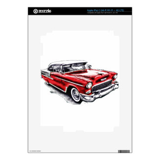 55 Chevy Decal For iPad 3