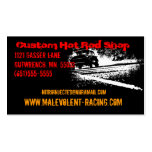 55 Chevy Gasser Burnout Double-Sided Standard Business Cards (Pack Of 100)