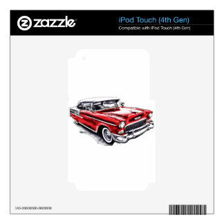 55 Chevy iPod Touch 4G Skin