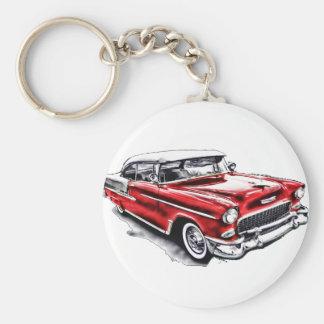 55 Chevy Llavero Redondo Tipo Pin