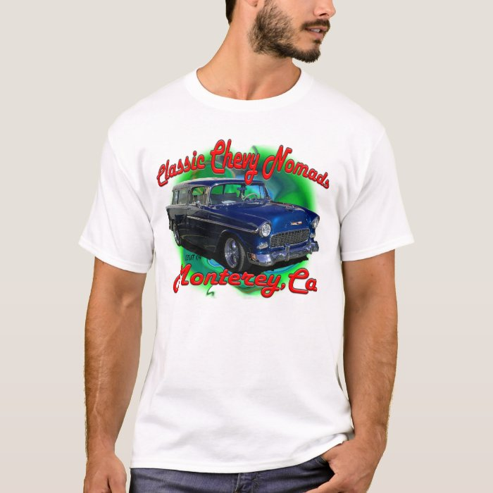 55 Chevy Nomad T Shirt Zazzle