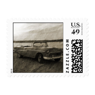 '55 Chevy Timbres Postales