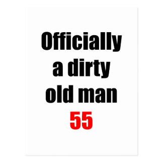 55  Dirty Old Man Post Cards