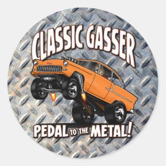 55 GASSER Flair Classic Round Sticker