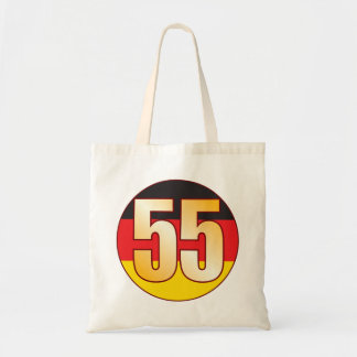 55 GERMANY Gold Tote Bag