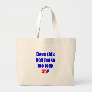 55 hace este bolso bolsa de tela grande