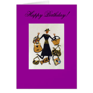 55 Jive Birthday Card