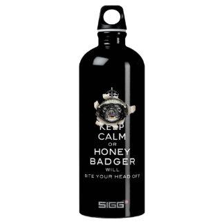 [55] Keep Calm or Honey Badger… SIGG Traveler 1.0L Water Bottle