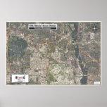 55.o Distrito de la casa de Illinois - mapa aéreo Impresiones