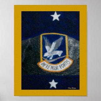 55 o Fuerzas de seguridad Poster