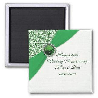 55.o Imán del aniversario de boda