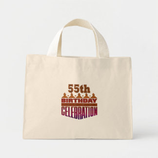 55.o Regalos de la celebración del cumpleaños Bolsa De Mano