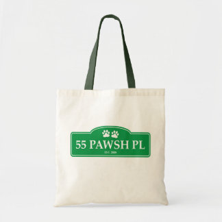 55 Pawsh Place eco tote
