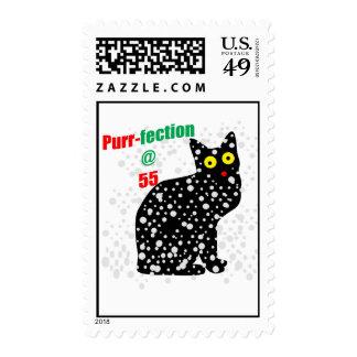 55 Snow Cat Purr-fection Stamps