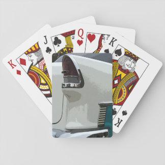55 tarjetas que juegan ligeras de la cola de Chevy Baraja De Cartas