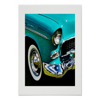 55 Turquoise Poster
