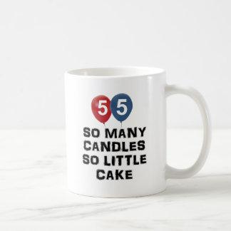 55 year old candle designs coffee mug