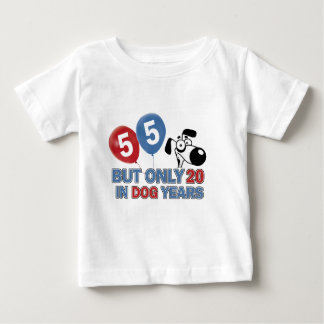 55 years Old birthday designs T-shirt