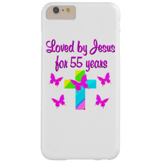 55 YR OLD PRAYER BARELY THERE iPhone 6 PLUS CASE