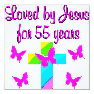 55 YR OLD PRAYER CARD