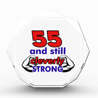 55and still cleverly strong award