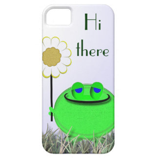 55s Hi there froggie and Daisy iPhone SE/5/5s Case