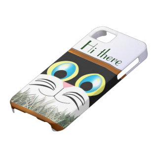 55s Hi there kitty iPhone 5 Case