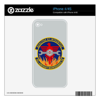 55th Aircraft Maintenance Squadron Skin For iPhone 4S