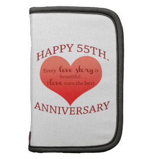 55th. Anniversary Folio Planner