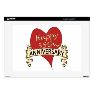 """55th. Anniversary Skin For 15"""" Laptop"""