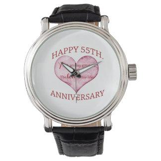 55th. Anniversary Wrist Watch