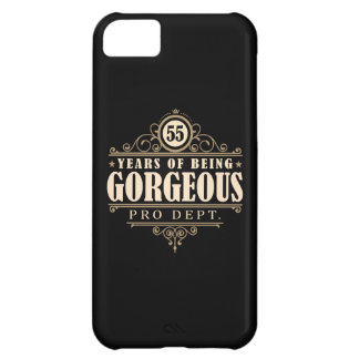 55th Birthday (55 Years Of Being Gorgeous) Case For iPhone 5C