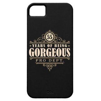 55th Birthday (55 Years Of Being Gorgeous) iPhone SE/5/5s Case