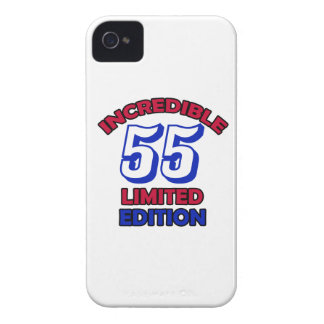 55th Birthday Design iPhone 4 Cover