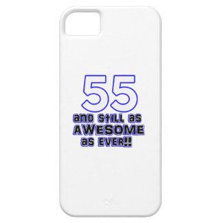 55th birthday design iPhone SE/5/5s case