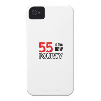 55th birthday designs iPhone 4 covers